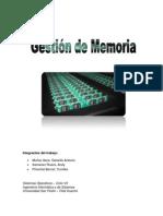 Gestion de Memoria - Exposición de S.O