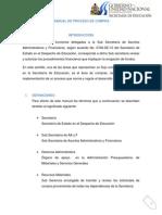 Manual de Proceso de Compra