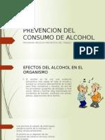 Prevencion Del Consumo de Alcohol