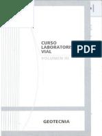 Curso Lab. Vial Vol. III Geotecnia