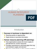 Hrm-human Resource Planning