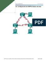 E. Laboratorio - OSPFv2