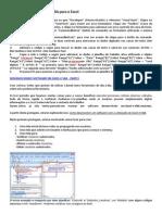 Como Criar Programas Do VBA Para o Excel
