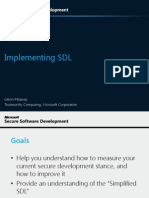 Pittaway Implementing SDL