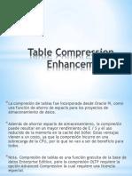 Table Compression Enhancements