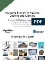 3 Reducing Energy Heating Cooling Lighting 2 Slides