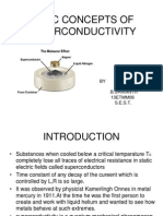 Basic Concepts of Superconductivity-1