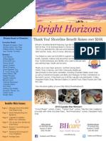 Bright Horizons Summer 2014