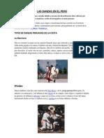 Las Danzas en El Perú