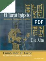 El Tarot Egipcio Etteilla Restaurado Elie Alta