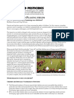 Pesticide and Playing Fields Lt r Head