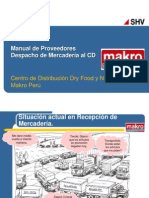 MAKRO - Manual de Proveedores - DeSPACHO Al CD - Vs5
