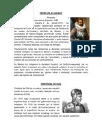 Biografias Pedro de Alvarado Cristobal de Olid Gil Gonzales Davila