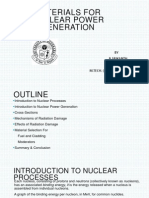 Materials for Nuclear Power Generation