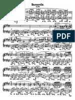 Chopin - Barcarole Op 60