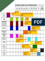 Calendario de Vacunación MINSA - 2011