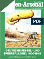 Waffen Arsenal - Band 149 - Deutsche Fessel- und Sperrballone 1900-1945