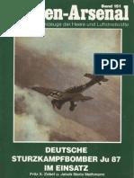 Waffen Arsenal - Band 151 - Deutsche Sturzkampfbomber Junkers Ju-87 im Einsatz
