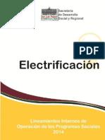 Lineamientos 2014 Electrificación Jalisco