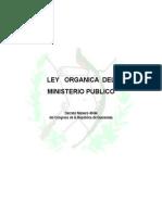 Ley Organica Del MP