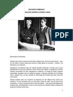 Discurso de Baldur Agrippa a Rudolf Hess