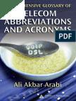 Auerbach Comprehensive Glossary of Telecom Abbreviations and Acronyms Sep 2007