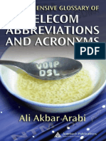 Auerbach Comprehensive Glossary of Telecom Abbreviations and Acronyms Sep 2007