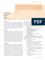 AAPD Guideline on Management of the Developing Dentition and Occlusion