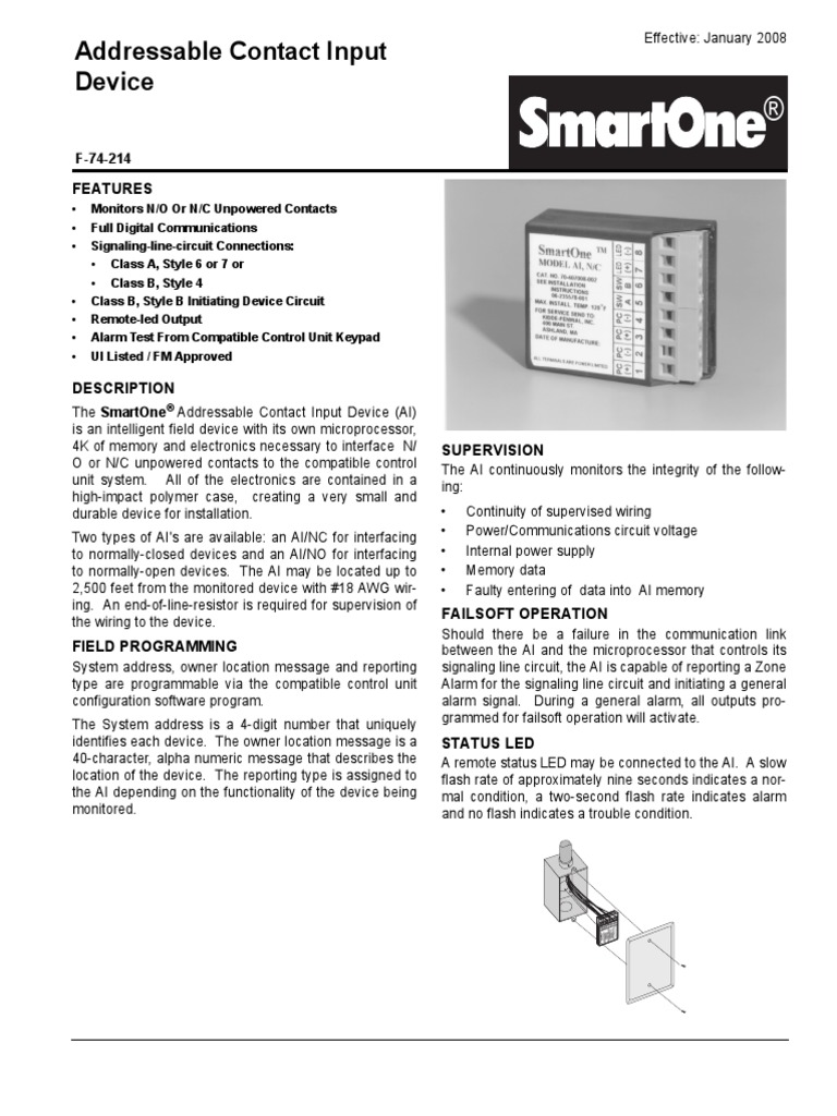 Fine Class A Fire Alarm Wiring Diagram Elaboration - Everything You ...