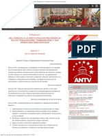 Título VII_ Del Derecho a La Participación Protagónica de Los Trabajadores, Tra