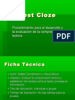 Test Cloze