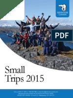 Adventure Canada Small Trips 2015