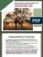 Presentación Variable ambiental y Ordenamiento Territorial