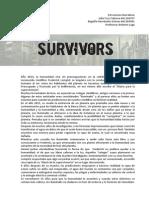 Survivors. Propuesta de juego de realidad alternativa