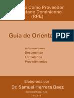 Guía de Orientación Para Obtención del Registro de Proveedor del Estado.