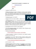 17.01.2013 - Actele Necesare Pt Inscriere La Admitere ZI Si ID