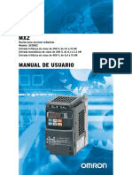 Drive OMRON 3G3MX2+UsersManual