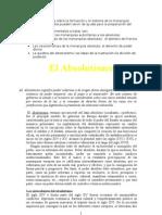 Tema 15 El Absolutismo
