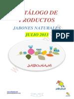Catalogo Jabones Jabonani JULIO 2013