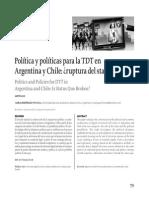 TDT en Argentina y Chile