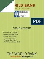 World Bank, Ida & Unctad - Group 7,