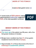 BENIGN TUMORS OF THE STOMACH