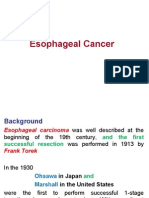 Copy of Esophageal Cancer