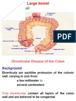 Diverticular Disease of the Colon
