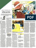 La experiencia de la alianza público-privada en educación