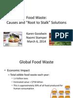 food waste presentation 1
