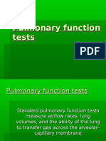 Respiration 3...Pulmonary function tests