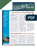 ESPARZA MÍA Magazine, Vol. 01
