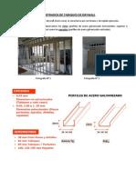 Metrados de Tabiques de Drywall