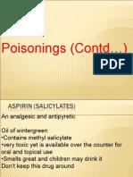 poisonings (contd...)